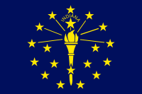 Indiana State Flag